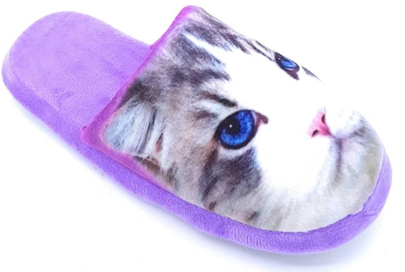 76463357b936c Angel Fashion Wild Cat Winter Slipper Slides - Buy Angel Fashion Wild Cat  Winter Slipper Slides Online at Best Price - Shop Online for Footwears in  India ...