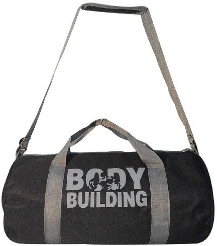 33bc039fe936 LS Letsshop New look Multi-purpose Sports Gym Bag Body Building Gym Bag  (Black