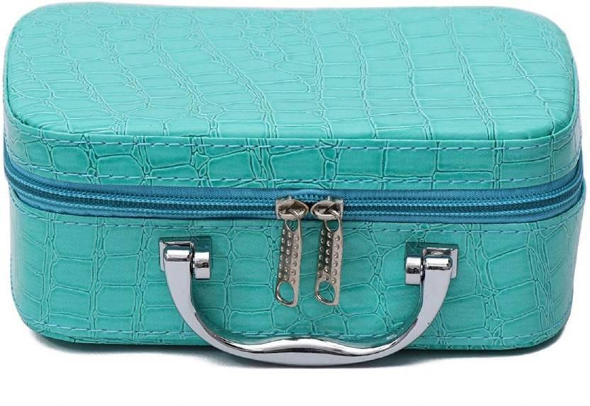 17a33673fc0e2c Holiday cosmatics bag and storage vanity bag All BLUE Vanity Box cosmetics , storage,jewelry