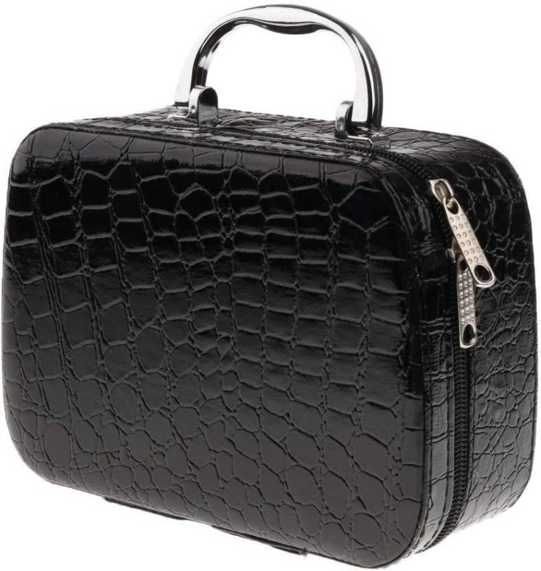 Holiday Cosmatics Bag And Storage Vanity Bag All Vanity Box Black