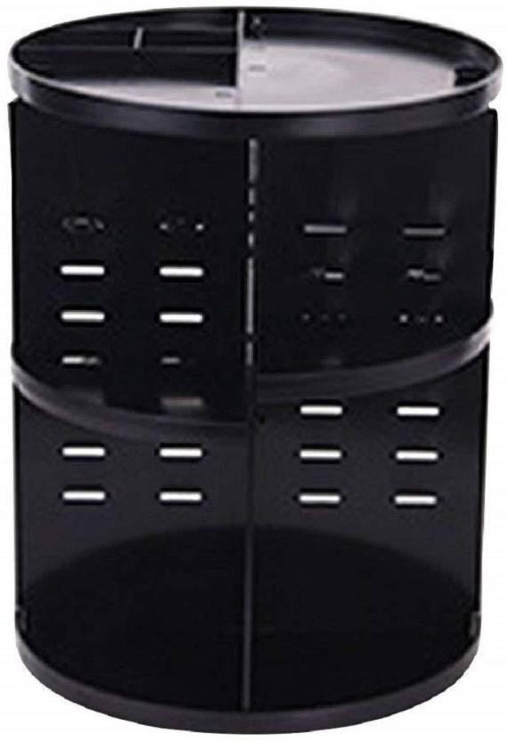 Syga 360 Degree Rotating Makeup Organizer And Storage Box Adjustable