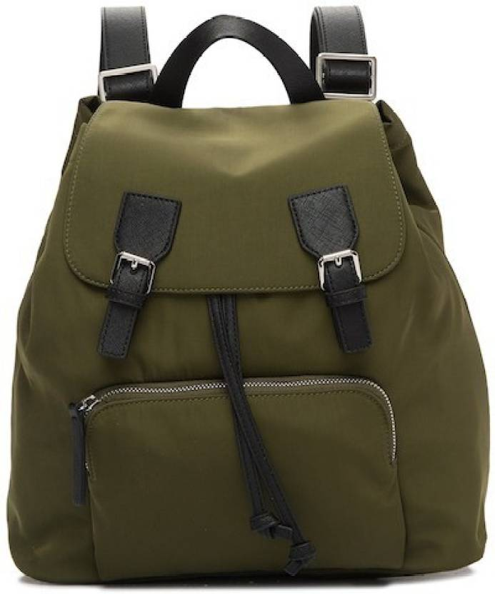 352699f8fe4 French Connection PATRICE BACKPACK 1 L Large Backpack AMAZON GREEN ...