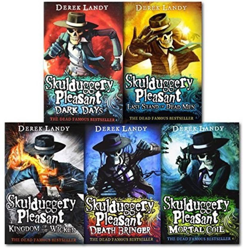 Skulduggery Pleasant Series 1 And 2 Collection By Derek Landy 6