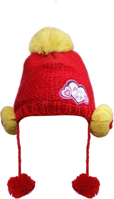 5487843caec Prime BEautiful   Fancy Woolen Cap For Kids Boys   Girls Cap - Buy Prime  BEautiful   Fancy Woolen Cap For Kids Boys   Girls Cap Online at Best  Prices in ...
