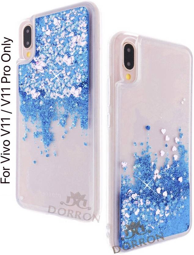 on sale b75ec 9a379 DORRON Back Cover for Vivo V11 / V11 Pro Glitter Bling Stylish Soft ...