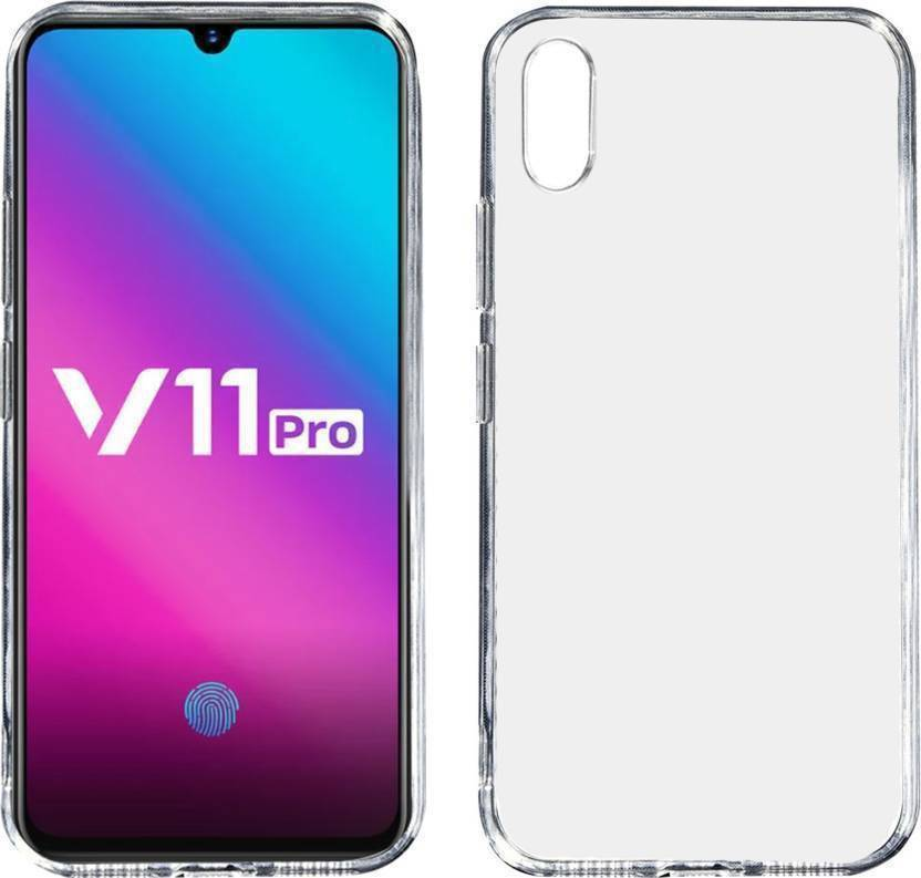 sports shoes 4c2bf d180e Fashion Way Back Cover for VIVO V11 PRO (Transparent Flexible Case ...