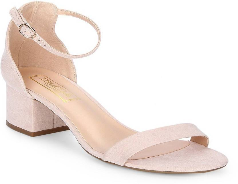 c2c17b45829a Truffle Collection Women Nude Heels - Buy Truffle Collection Women Nude  Heels Online at Best Price - Shop Online for Footwears in India