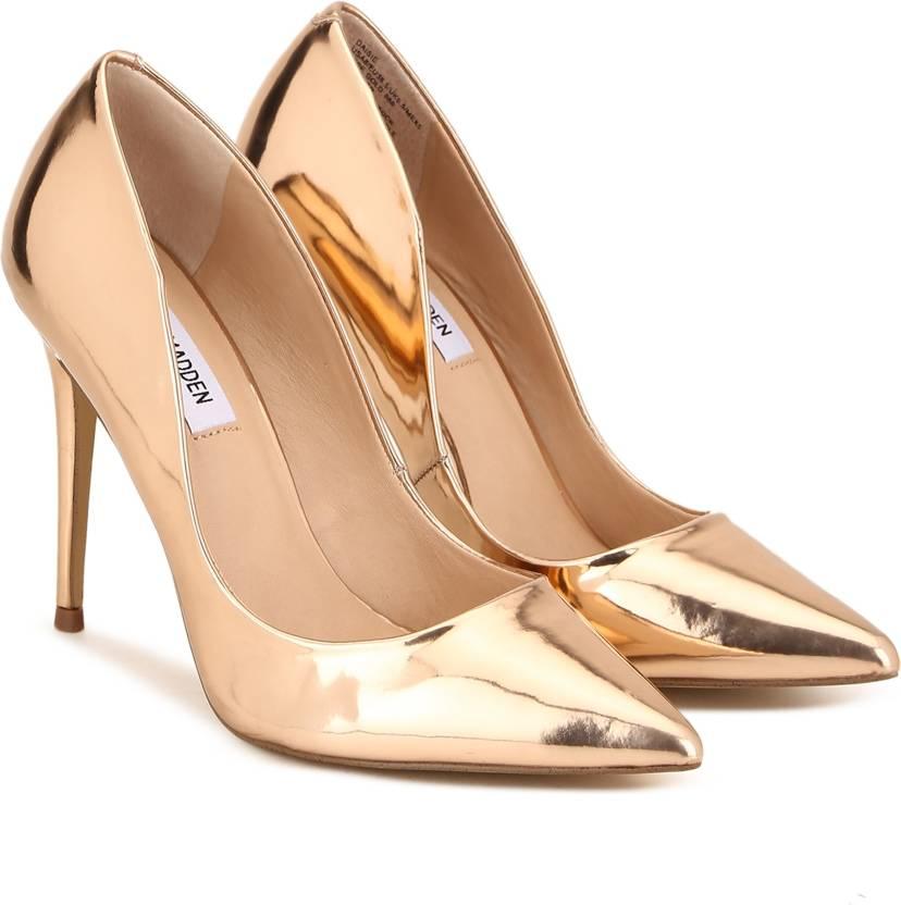 9f3b006bab0 Steve Madden Women ROSE GOLD Heels - Buy Steve Madden Women ROSE ...