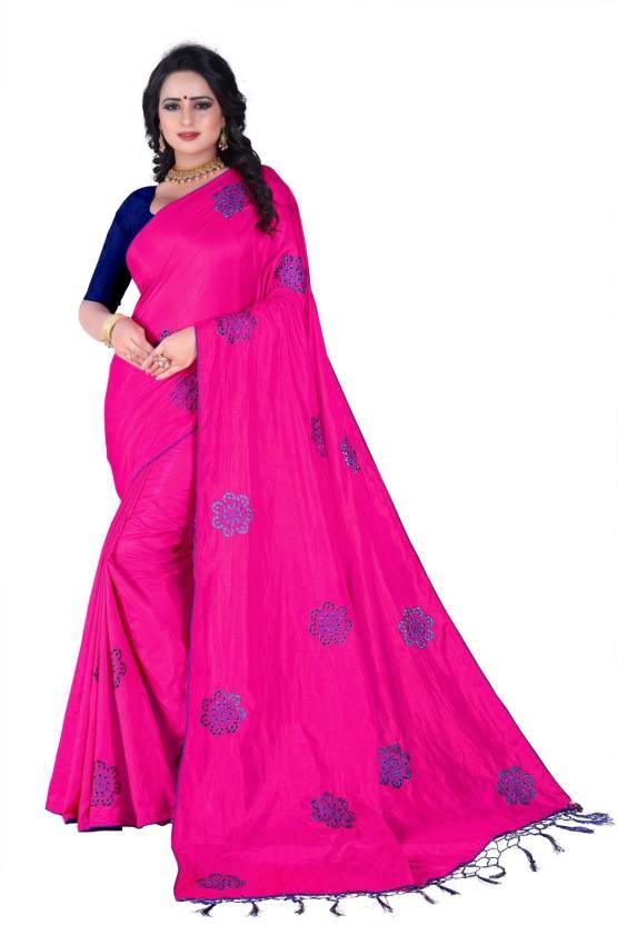 055dcedf3 Buy Fancy Fab Embroidered Fashion Silk, Poly Silk, Silk Linen Blend ...