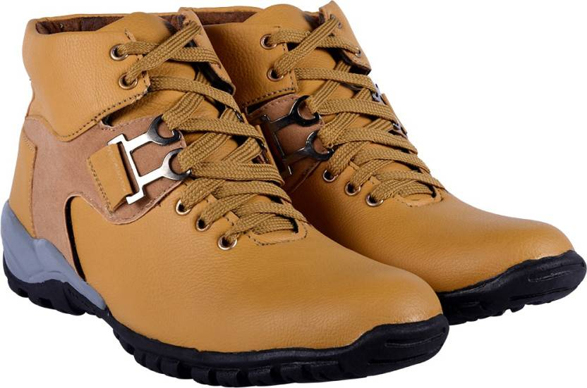 03a128e3ed4 DLS Tan casual party wear boots shoes for men's Boots For Men