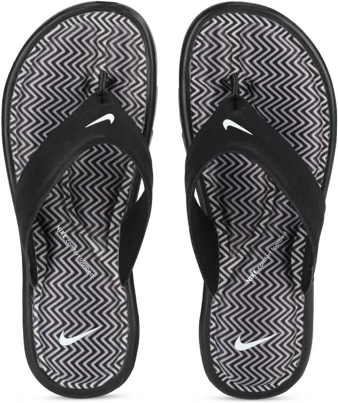 e99ff692f Nike WMNS ULTRA COMFORT THONG PRINT Flip Flops - Buy Nike WMNS ULTRA  COMFORT THONG PRINT Flip Flops Online at Best Price - Shop Online for  Footwears in ...