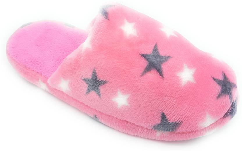 42b4e1b733298 Angel Fashion W Star Winter Slipper Slides - Buy Angel Fashion W Star Winter  Slipper Slides Online at Best Price - Shop Online for Footwears in India ...