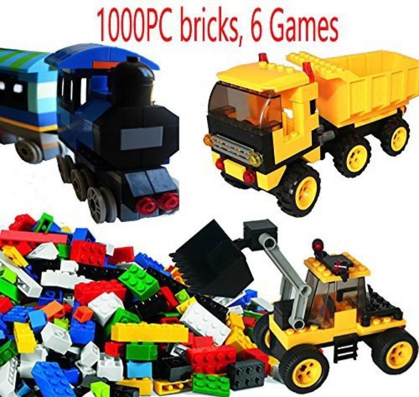 Genrc Dreambuilder Toy Building Bricks Set, 1000 Pieces Lego