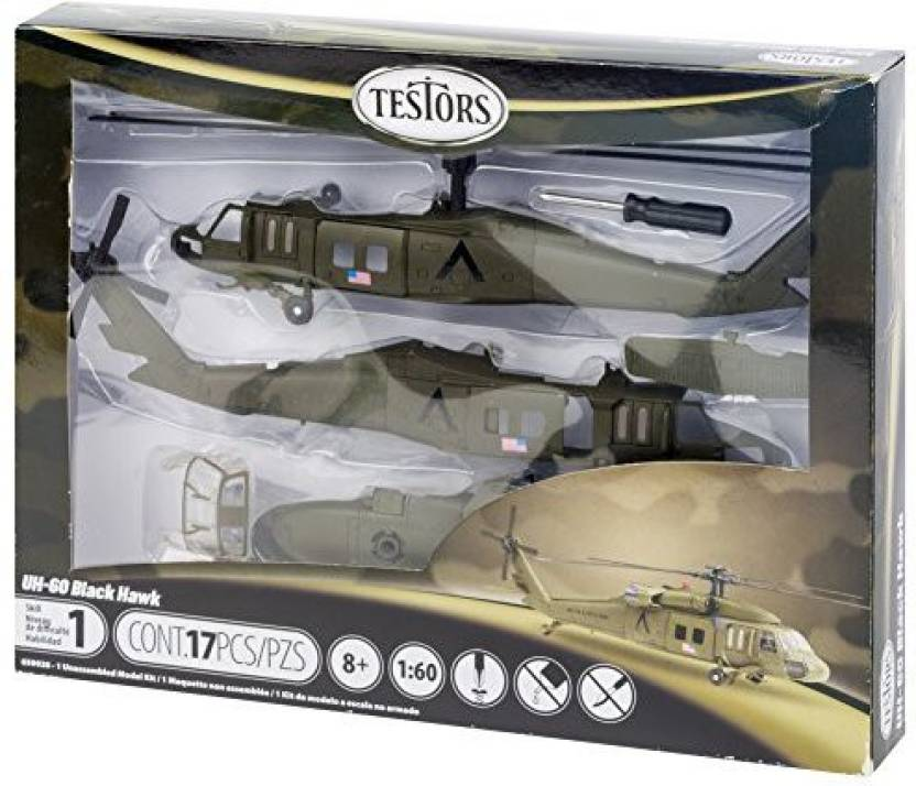 Testor Corp Testors Uh-60 Black Hawk Helicopter Model Kit (1