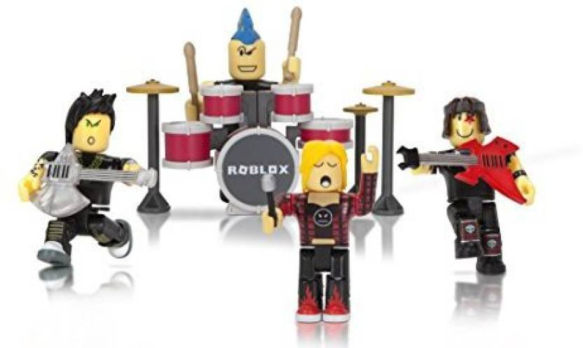 Genrc Roblox Mix And Match Figure 4 Pack, Punk Rockers