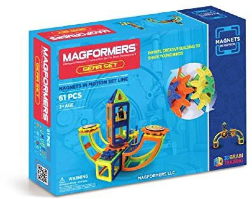 20-pieces Magformers Magnets in Motion Accessory Set Magnetic    Building  ...