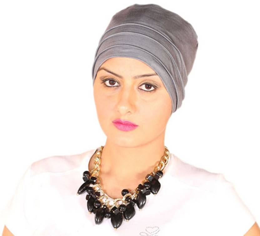 41fbe25f1e9 THE HEADSCARVES Solid Turban Chemo Beanie Scarf Cap wig for cancer patients  alopecia Trichotillomania Bandana sleep