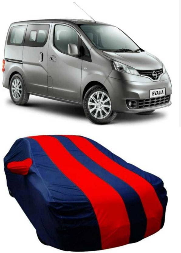 Drize Car Cover For Nissan Evalia With Mirror Pockets Price In