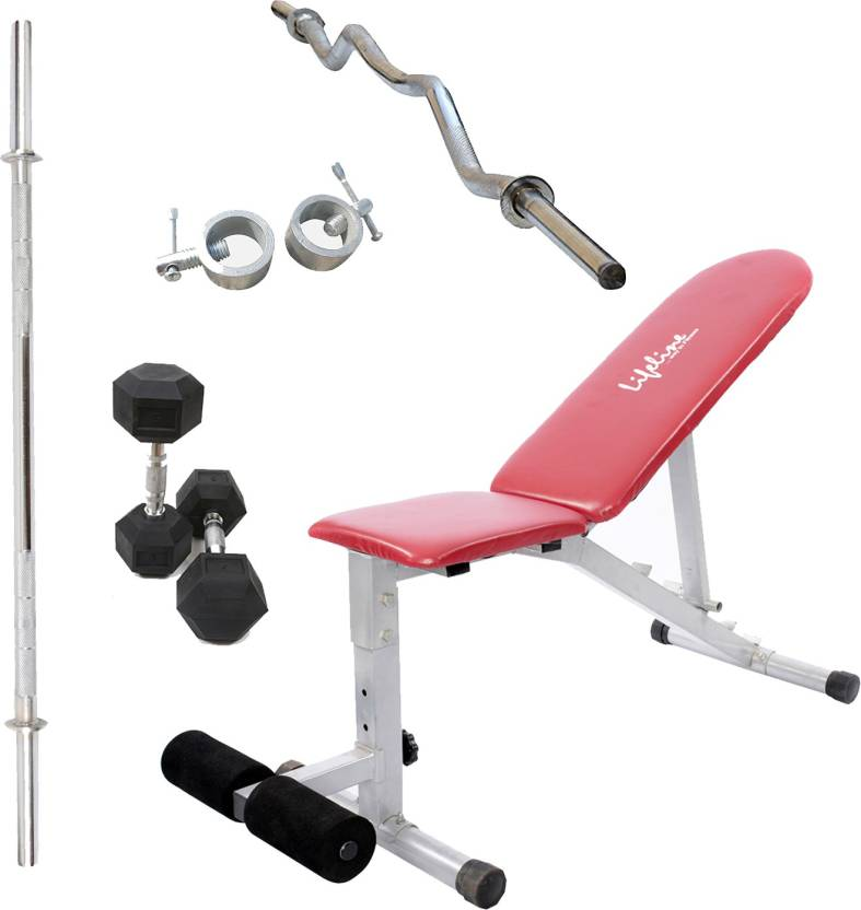 Lifeline Adjustable Bench 311 Bonus With 5ft Rod 23mm 1pc