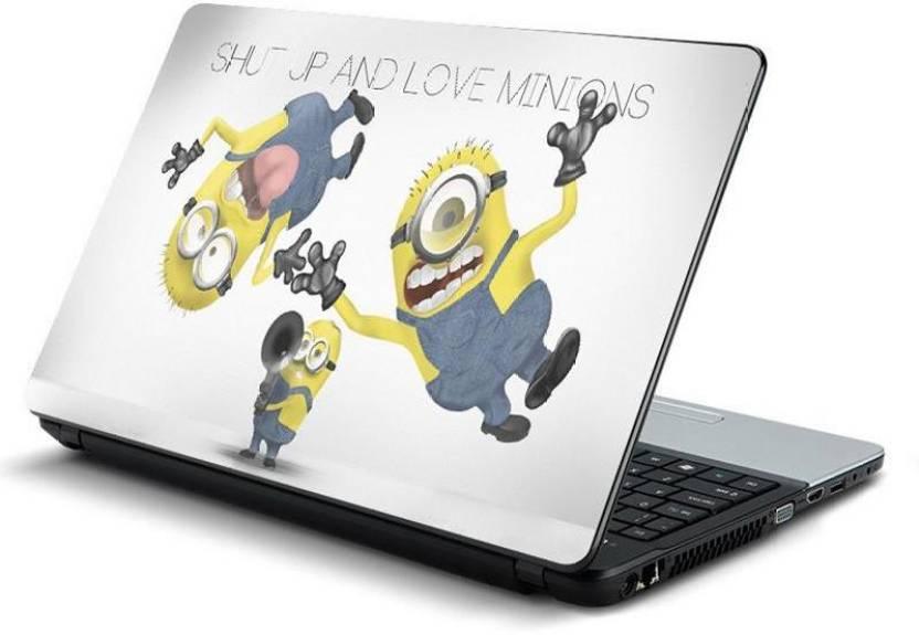 PrintHunt MULTICOLOR Laptop Skin Sticker