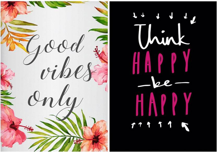 MOTIVATE BOX | Combo Posters Set Of 2 Quotes/Signs/Symbols