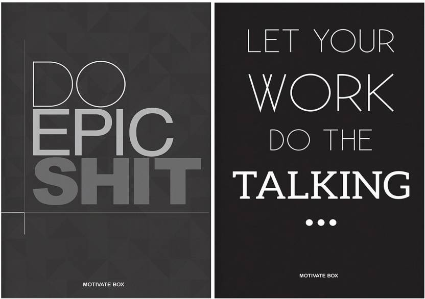 Combo Posters Set Of 2 Quotes/Signs/Symbols Combo Posters