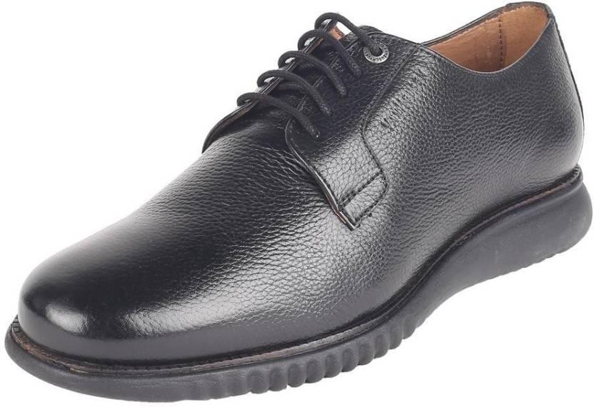 0137f2ffc2 Van Heusen Black Lace Up Shoes Casuals For Men - Buy Van Heusen ...