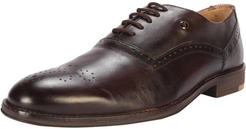 Van Heusen Van Heusen Brown Formal Shoes Oxford For Men - Buy Van ... 5cdfb3249