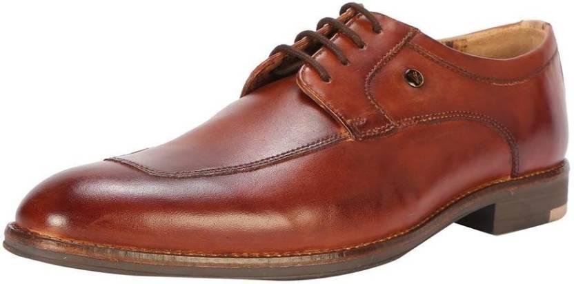a83f0a1680 Van Heusen Van Heusen Tan Formal Shoes Derby For Men - Buy Van ...