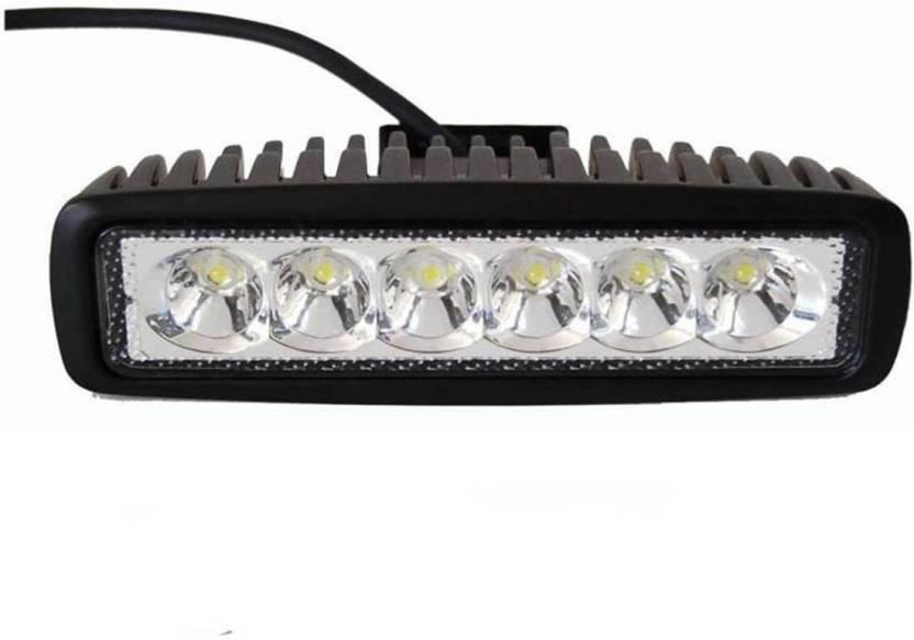1e541fe7aa8 TroyKart Fog Lamp, Headlight LED (Universal For Bike, Universal For Car,  Pack of 2)