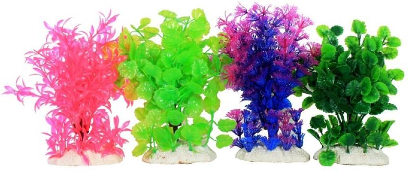 Liger India Aquarium Fish Tank Decorative Artificial Plant Laterite