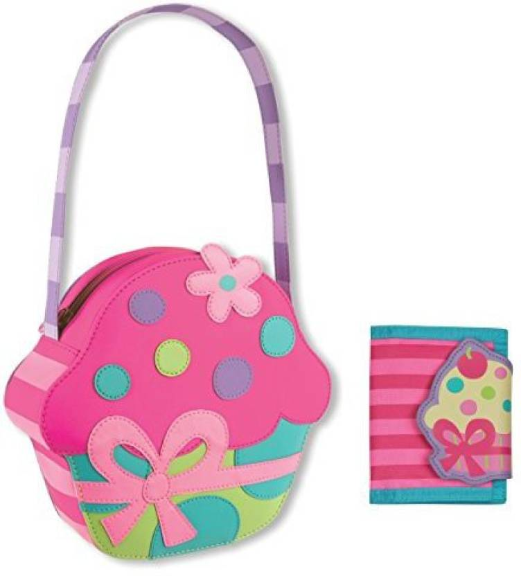 e1b8ec813a Stephen Joseph Cupcake Purse and Cupcake Wallet Combo - Little Girls Purses  - Cupcake Purse and Cupcake Wallet Combo - Little Girls Purses . shop for  ...