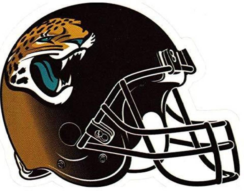 3bfc8a6c Genrc fb 4 Pack Jacksonville Jaguars Die Cut Stickers NFL Football ...