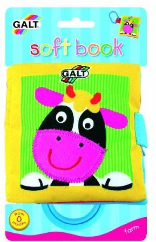 Galt Toys Inc First Years Farm Soft Book