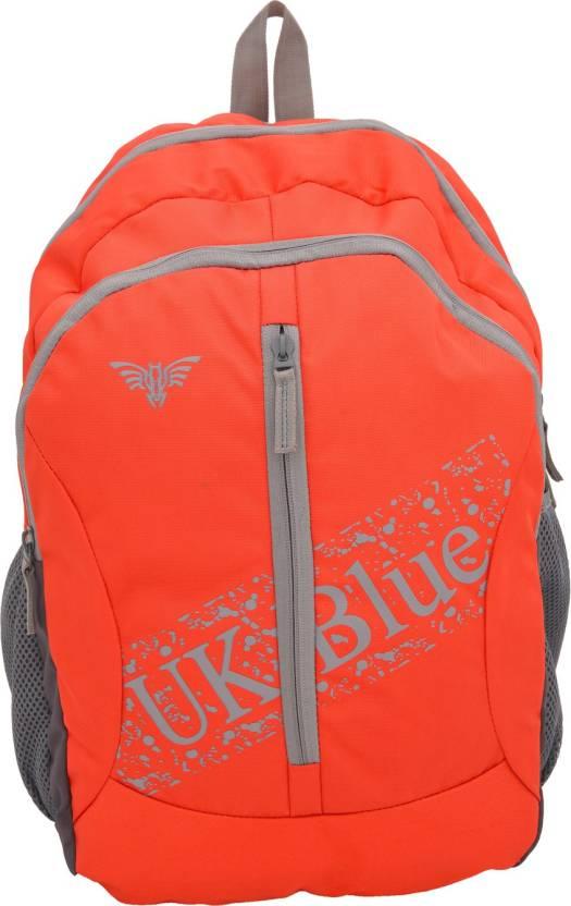 4a5070138558 UK Blue UKBLUE-CLASIC 25 L ORANGE BACKPACK 25 Backpack ORANGE ...