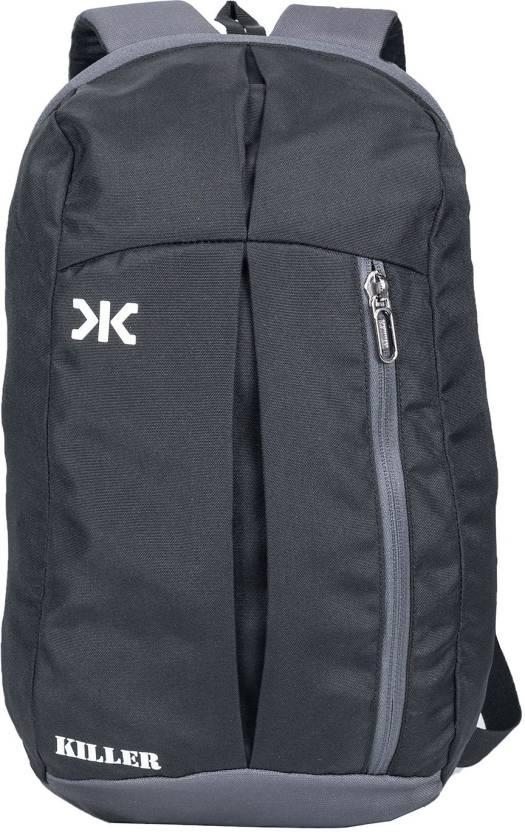 0217893072b6 Killer Jupiter Black Small Outdoor Mini Backpack 12L Daypack 12 Backpack  (Black)