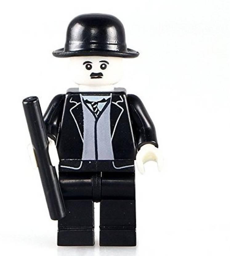 Genrc Kopf Charlie Chaplin The Comic Actor Mini Doll Bricks
