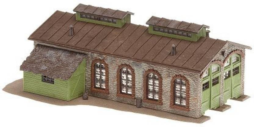 Genrc Faller 222116 2-Stall Stone Enginehouse N Scale