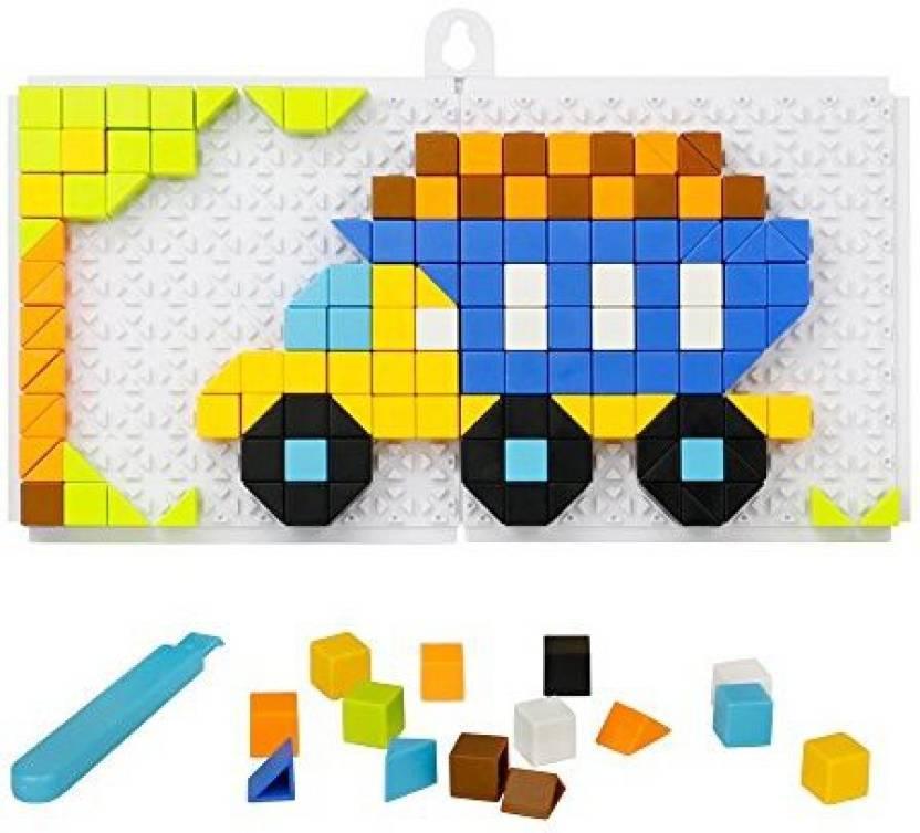 Fajiabao Mosaic Puzzle Funny Bricks Jigsaw Puzzles Building Blocks