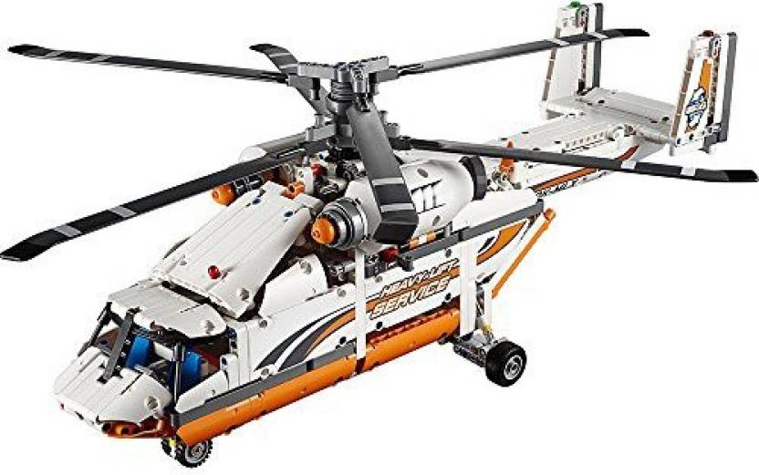 Lego Technic Heavy Lift Helicopter 42052 Advanced Building