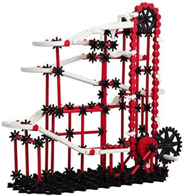 FAO Schwarz Ultimate Marble Run Race Toy For Kids 313 PiecesStimulates