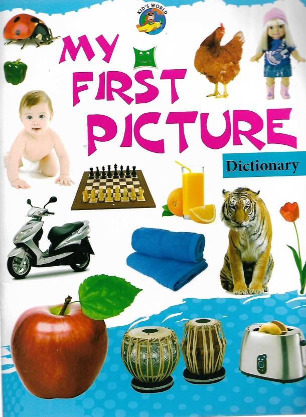 DEEPU PRAKASHAN, MY FIRST PICTURE DICTIONARY: Buy DEEPU