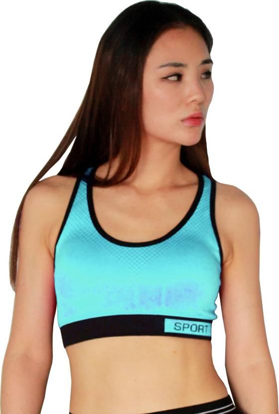 8eedd09892825 Shopping mazz Women Sports Lightly Padded Bra - Buy Shopping mazz ...