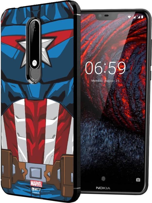 reputable site db281 e8c47 MTT Back Cover for Nokia 6.1 Plus - MTT : Flipkart.com