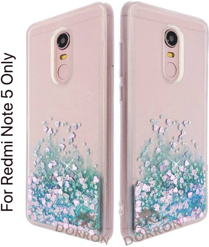 check out 9fcdf 232b8 DORRON Back Cover for Mi Redmi Note 5 Glitter Bling Stylish Soft ...