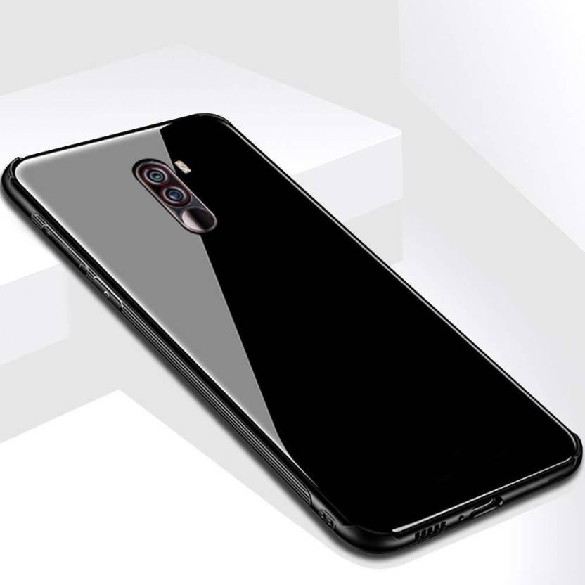 newest e8479 cae26 TECHCARE Back Cover for Xiaomi Redmi Poco F1 / MI Poco F1, Toughened ...