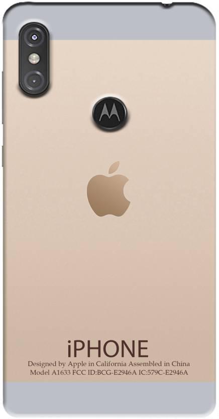 PAEDICON Back Cover for Motorola Moto One Power - PAEDICON