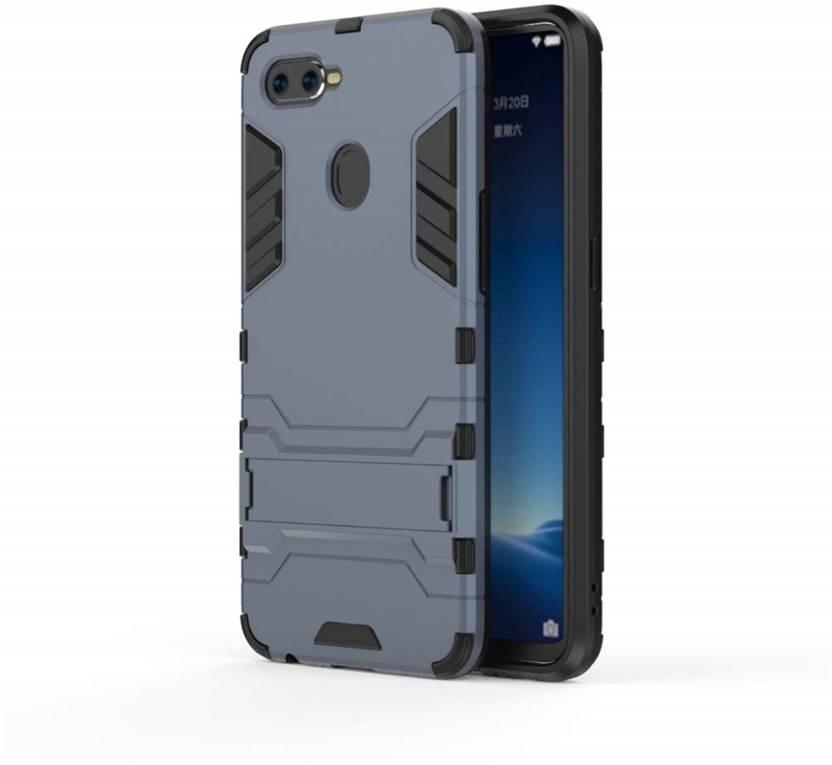 buy popular ea991 10e37 Tarkan Back Cover for Heavy Duty Shockproof Armor Kickstand Back Case Cover  for Oppo Realme 2 Pro