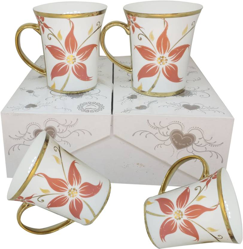 Casadomani High Quality Food Grade Material Attractive Design Ceramic Cup Gift Set For Tea Kicking Coffe