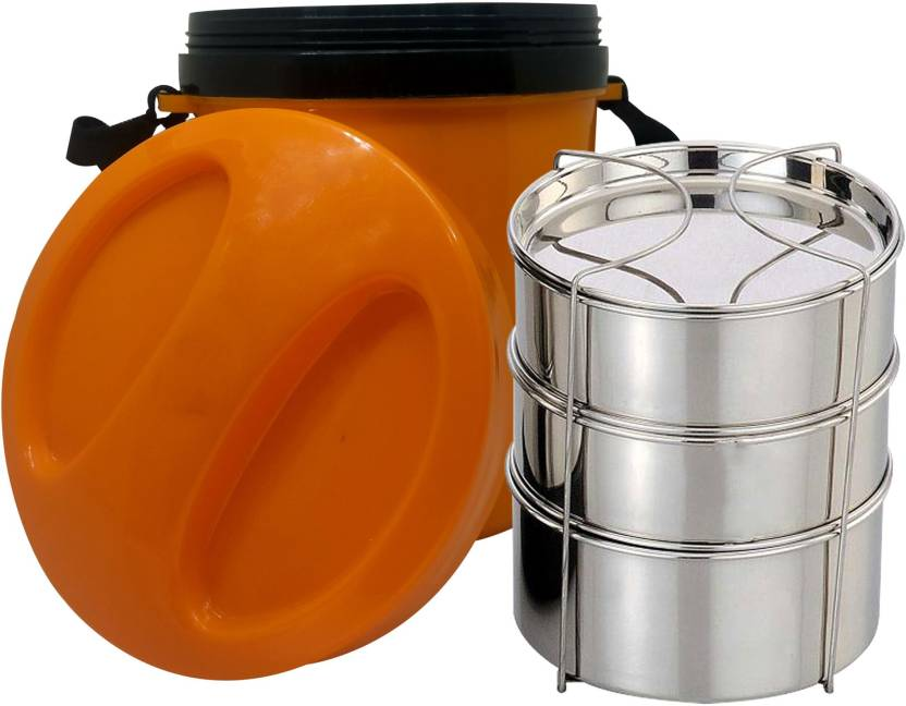 CASADOMANI Good Quality Lunch Box Picnic Food Container Stainless Steel Lunch  Box Tiffin Hot Box Lunch 3c257dda5ca3